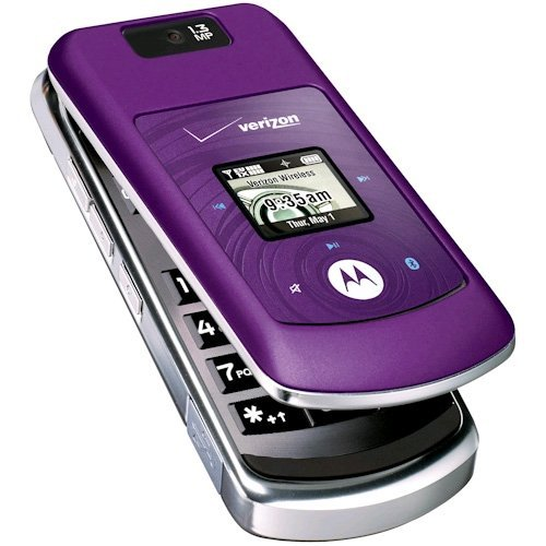 Verizon MOTW755PMOCK Motorola Replica Purple
