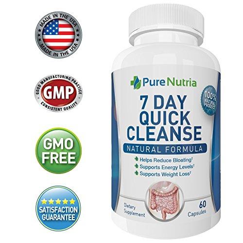 PureNutria Colon Cleanse Detox Supplement