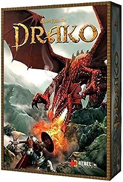 Rebel POR007 Drako - Juego de Mesa (Incluye miniaturas, para 2 Jugadores): Amazon.es: Juguetes y juegos