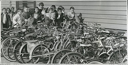 1961 Press Photo Third graders at Prescott Elementary School in - Prescott Portland The