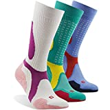 Hiking/Marathon Socks, ZEALWOOD Breathable Compression Socks, Running Socks