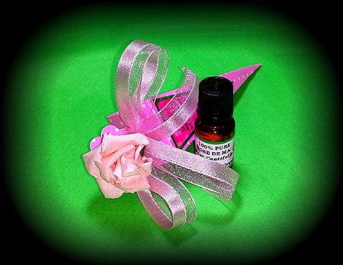 Rose De Mai Эфирное масло 100% Pure Rosa Centifolia- 10 мл (1/3 унции) - Упаковка для подарков