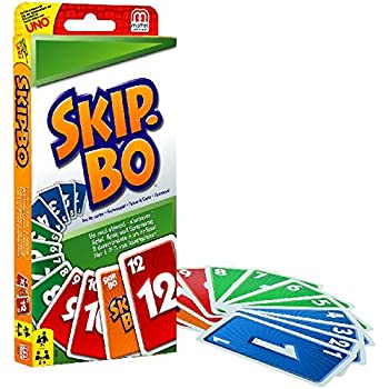 Mattel 52370 Card game - Skip Bo