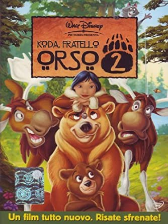 Koda fratello orso 2 [italian edition] by animazione: amazon.it
