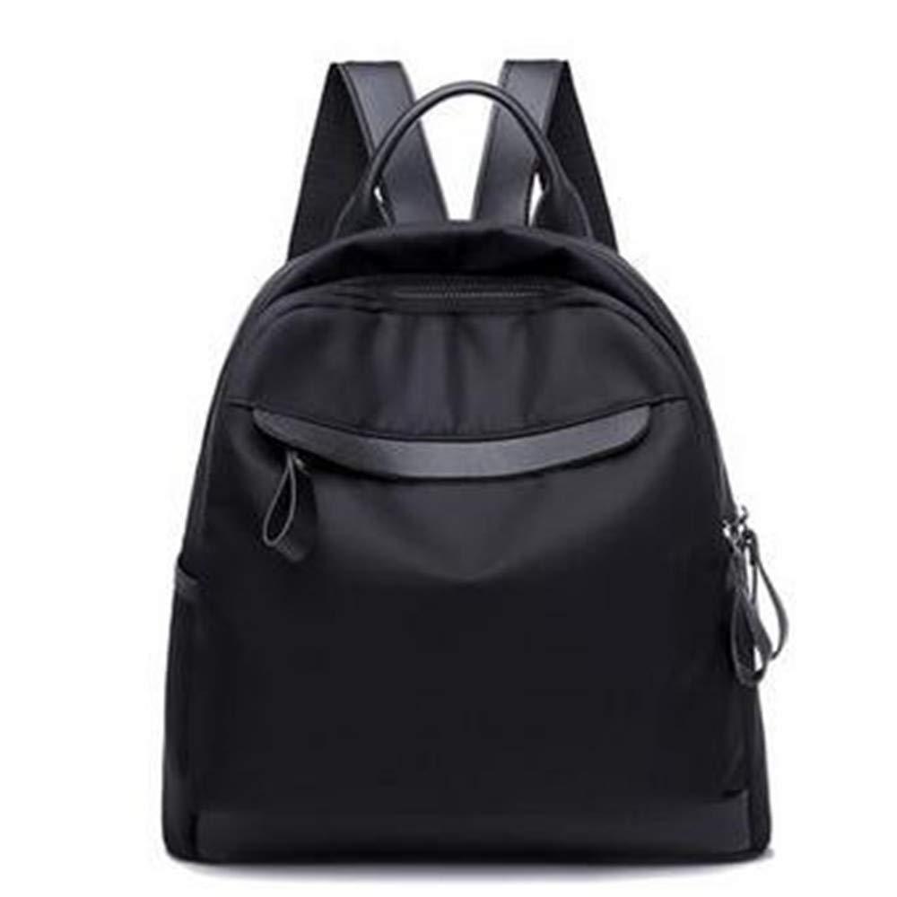 LIZHONG-SLT Ladies Outdoor Travel Student Shoulder Bag,Black,(Width 30cm Thickness 15cm high 33cm)