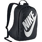 NIKE Heritage Hayward Backpack (Black with Signature White Swoosh)