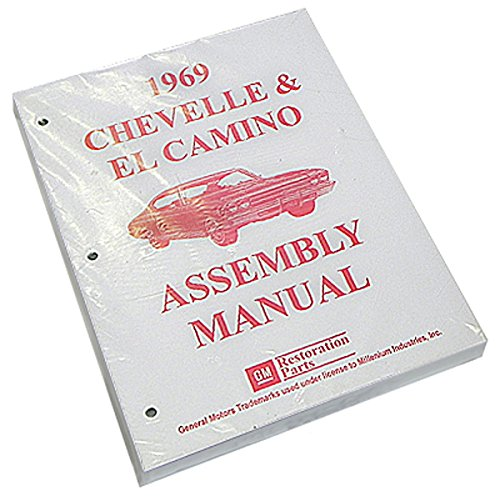 442 Chevelle - Inline Tube (I-2-10) Factory Assembly Manual for 1969 Chevrolet Chevelle and El Camino