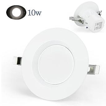 Novolumi® Panel Foco LED SMD 12pcs 3 Pulgadas 10 3030 Bombilla Luz LED 800LM Lámpara