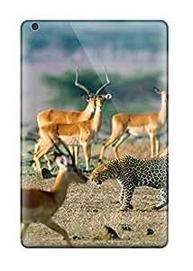 Shock-dirt Proof Africa Animal Wallpaper Case Cover For Ipad Mini/mini 2