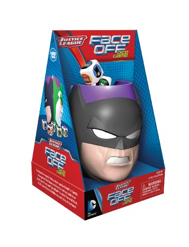 The Wonder Forge Justice League Face Off Dice Game (Justice League Dice)