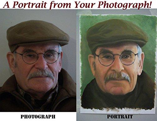 Original Oil Portraits - 4