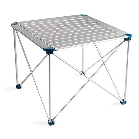 HEEGNPD Mesa Plegable de Camping Compacto portátil para ...
