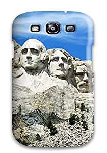 Durable Defender Case For Galaxy S3 Tpu Cover(mount Rushmore South Dakota)