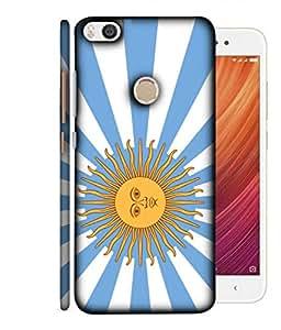 ColorKing Football Argentina 17 Multi Color shell case cover for Xiaomi Mi Max 2