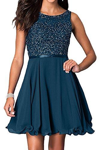 La Mini Jugendweihe Damen Braut Brautjungfernkleider Blau Cocktailkleider Abendkleider Kurzes Kleider Marie Tinte OqYr5nwzxO