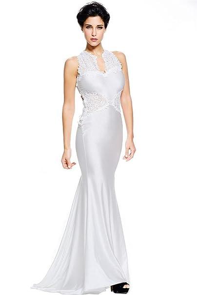 sagton® mujeres Formal vestidos de novia elegante vestido 2016 Robe de Soiree – largo vestido