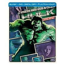 The Incredible Hulk (SteelBook) (Blu-ray + DVD + Digital Copy + UltraViolet) (2008)