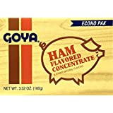 Goya Ham Flavor Concentrate, 20-count 3.52-Ounce Packets (Pack of 6)