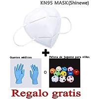 Máscara anticontaminación KN95 con Filtro FFP2 95%