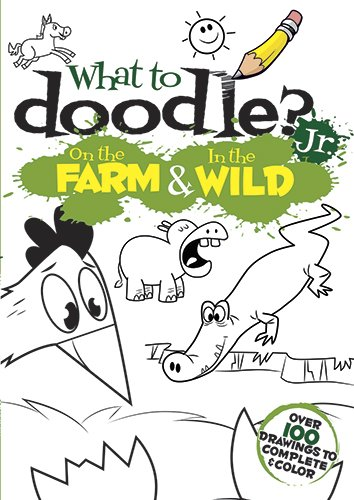 Download What to Doodle? Jr.--On the Farm & In the Wild (Dover Doodle Books) ebook