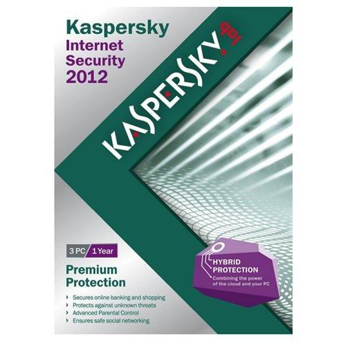 Kaspersky Internet Security 2012 3U (WIN XPVISTAWIN 7) (KIS1203121USWP)