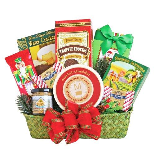 Delicious Delights Basket (California Delicious Holiday Snack Delights Gift Basket)