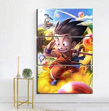 Amazon Com 3 Piece Game Poster Art Dragon Ball Z Goku Pictures