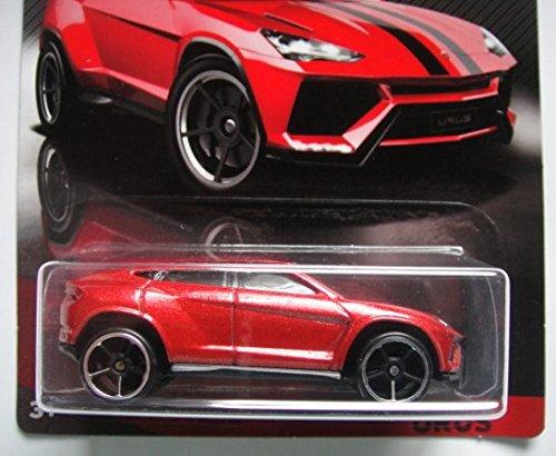Red MATTEL SG/_B0743JNBJR/_US Hot Wheels 2017 Lamborghini Series Lamborghini Urus 7//8