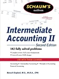 img - for Schaum's Outline of Intermediate Accounting II, 2ed (Schaum's Outlines) by Baruch Englard (2009-06-16) book / textbook / text book