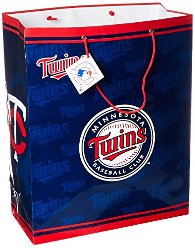 MLB Minnesota Twins Gift Bag, Large