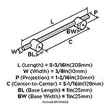 Transcendent 5-1/16 in (128 mm) Center-to-Center