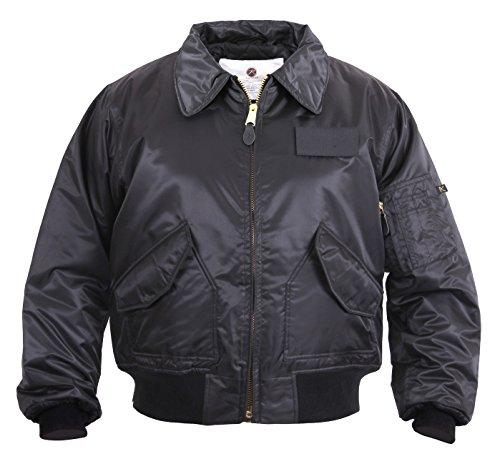 Rothco Cwu-45P Flight Jacket-Black/XX-Large