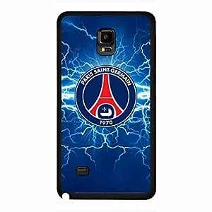 Fabulous PSG Logo Phone Skin,Samsung Galaxy Note 4 Funda Design From Paris Saint Germain Logo Image