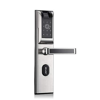 Cerraduras Biométricas De Huellas Dactilares, Contraseña / Bluetooth / Tarjeta De Proximidad / APLICACIÓN Bloqueo