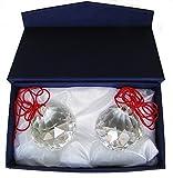 Amlong Crystal 40mm Clear Suncatcher Crystal Ball