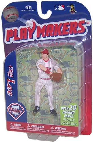 MLB Philadelphia Phillies McFarlane 2012 Playmakers Série 3 Cliff Lee Action Figure