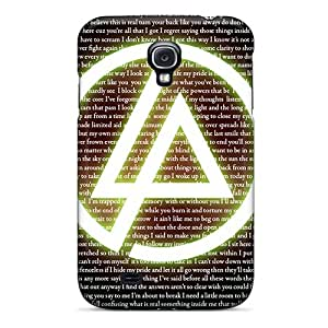 Scratch Resistant Hard Cell-phone Case For Samsung Galaxy S4 With Custom HD Linkin Park Series VIVIENRowland