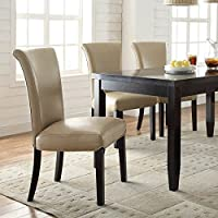 Coaster Home Furnishings Casual Dining Chair (Set of 2), Taupe