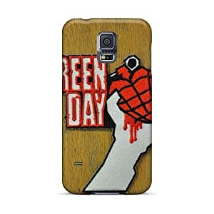 KevinCormack Samsung Galaxy S5 Scratch Protection Mobile Case Support Personal Customs Realistic Green Day Band Skin [mxx573pBRr]
