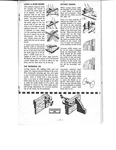 1954 Craftsman The Circular Saw - Part 2 Instructions Reprint [Plastic Comb] [Jan 01, 1900]