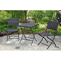 Mainstays Haynes 3-Pc. Folding Bistro Set