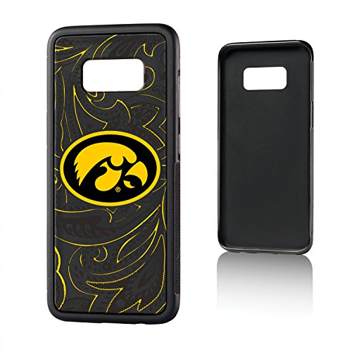 - Keyscaper NCAA Iowa Hawkeyes Paisley Bump Case, Galaxy S8, Black