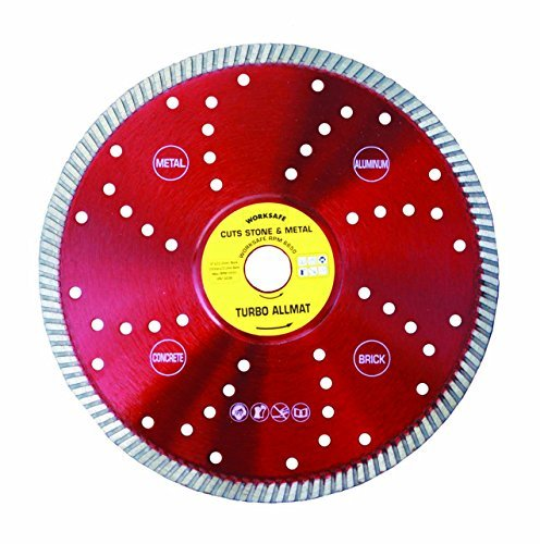 worksafe turbo allmat cutting disc 230mmx22.2mm Bore by Worksafe ()