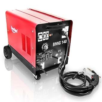 Berlan Mig/Mag BMIG140–Dispositivo de soldadura de gas inerte