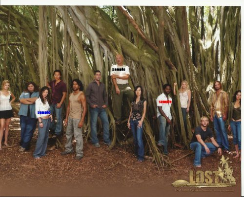 Lost the television series Cast Picture #4 with 13 cast members 8 x 10 inches Photo LostTV2015