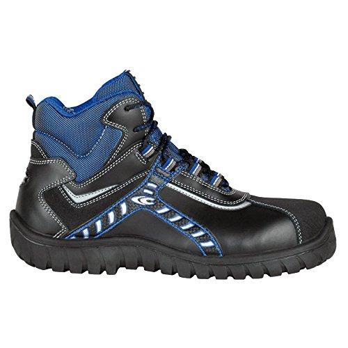 """Cofra 36320–000.w46taglia 46s3src """"Baltic Scarpe di sicurezza, colore: nero/blu"""