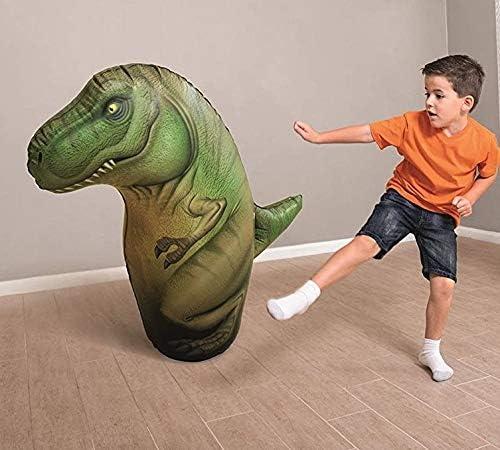 ML tentepie muñecos y Animales Hinchable tentetioso . muñeco Dinosaurio Hinchable para niños Dinosaurio Verde