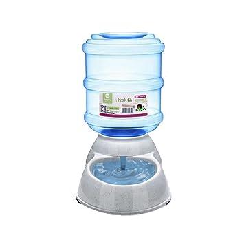 ED-Lumos Alimentador Automático para Mascotas Perro Gato Dispensador de Agua Bomedero Plástico alimentario 3.5L: Amazon.es: Productos para mascotas