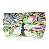 Fintie Protective Storage Carrying Case for Apple Magic Mouse (1st and 2nd Gen), Slim Fit Premium PU Leather Cover Sleeve Travel Bag, Horizontal Love Tree