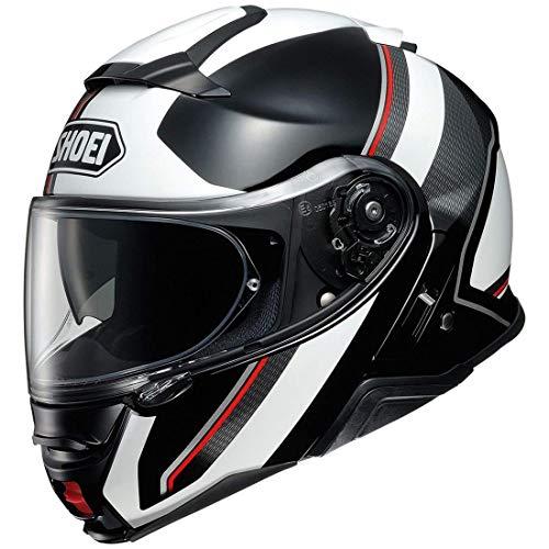 (Shoei Neotec II Helmet - Excursion (LARGE) (WHITE/BLACK))